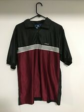 New listing SMP Clothing Polo shirt size XL Black / Gray / Maroon