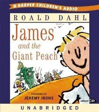 James and the Giant Peach CD  (ExLib) by Dahl, Roald  Performed by Jeremy Irons