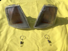 New Set Front Blinker VAUXHALL OMEGA A White RIGHT AND LEFT INDICATORS
