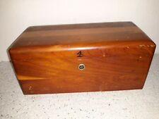 Vintage Miniature LANE Cedar Chest Box Hummel's Good Furniture Orwigsburg PA