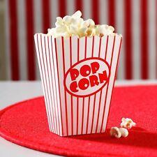 80 Cajas De Palomitas De Maíz Movie Hollywood Fiesta de Cumpleaños Divertido Home Cinema bolsas de papel