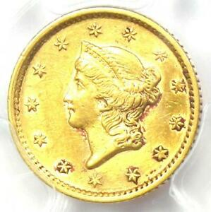 1854 Liberty Gold Dollar G$1 Coin - Certified PCGS XF Details (EF) - Rare Coin!