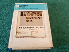 The Olympics- 'Greatest Hits' 8-Track Tape Cartridge- Tested, Works