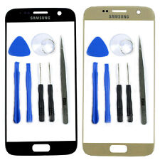 New Front Outer Glass Screen Lens Cover Replacement For Samsung Galaxy S7 G930