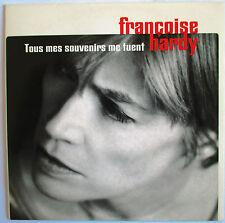 """FRANÇOISE HARDY - CD SINGLE PROMO """"TOUS MES SOUVENIRS ME TUENT"""""""