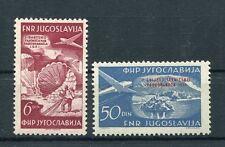 Jugoslawien 666/67 postfrisch / Flugpost .................................1/1418