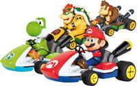 CARRERA RC remoto Control Mario Kart Luigi Donkey Kong Bowser Yoshi nuovo!!