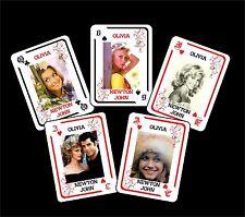 OLIVIA NEWTON JOHN 1 BOX WITH 54 POKER PLAYING CARDS - ARGENTINA! - NIB