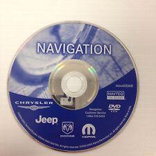 Chrysler Jeep Dodge Rb1 Navigation Disc 05064033Ad