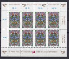Österreich Kleinbogen  MiNr.  2187   Tag der Briefmarke 1996