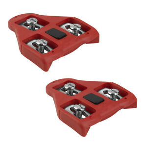 BV Bike Cleats Look Delta Compatible Bicycle Cleats 9 Degree Fits Peloton Bike