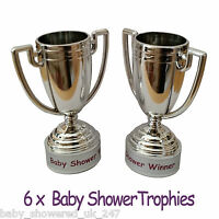 Baby Shower Party Games  -  6 Baby Shower PRIZES / FAVORS  -  Trophies