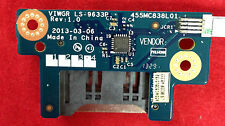 LENOVO G500 SD MMC MEMORY CARD READER BOARD w/ CABLE  NBX0001DC00 LS-9633P