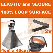 2x Nonslip Elastic Stretchable Strap for Flash Honl Lumiquest Strobist