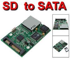 """ADATTATORE CONVERTITORE DA SD SDHC A HDD HARD DISK SATA 2.5"""" STATO SOLIDO SSD"""