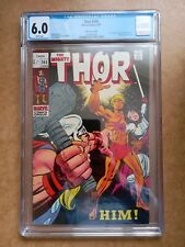 Thor 165 (June 1969) CGC 6.0 (White Pages) 1st Full App Him (Warlock) RARE PENCE