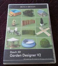 Dosch Design GARDEN DESIGNER V2 DVD 250 3D Models for Maya, LW3D, 3DSMax & MORE!