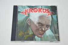KROKUS - ALIVE AND SCREAMIN' 1st Press on CD 1986 Pressed in Japan for Us Market