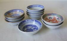 Ten Chinese Porcelain Miniature Bowls: Spice / Pickle Dishes : C.20th