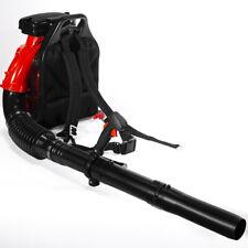 Gas Backpack Leaf Blower 79.4CC 2-Stroke Powered Debris w/ Padded Harness EPA