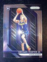 Michael Porter Jr 2018-19 PRIZM MICHAEL PORTER JR ROOKIE #32 RC DENVER NUGGETS