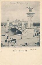 1900 Paris Exposition Le Pont Alexandre III – udb