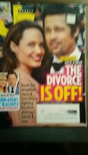 US WEEKLY BACK ISSUE 34 08/21/2017 MAGAZINE ANGIE & BRAD THE DIVORCE IS OFF!