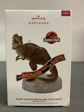 2019 Hallmark Jurassic Park When Dinosaurs Ruled The Earth Magic See Note Box!