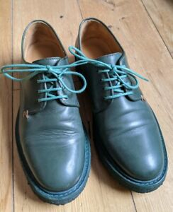 Tracey Neuls Green Leather Shoes