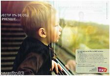 PUBLICITE ADVERTISING 095 2009  SNCF trains le TER  ( 2 pages)