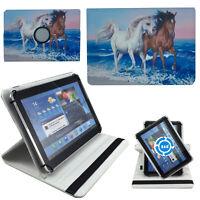 Hülle für Odys NoteTab PRO LTE Schutz 10 Zoll Tablet Tasche Pferd