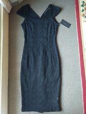BNWT NEW ZARA Black Lace Dress - Size XS, AU 8