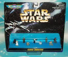 STAR WARS MICRO MACHINES CLASSIC CHARACTERS 9 PC MINI FIGURE SET