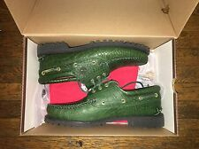 Supreme® / Timberland®3-Eye Boat Shoe , Green Size US 10
