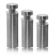 "Wall Spacer Plug Steel Fixing Acrylic Glass Holder Photos Ø 1,2cm/0,47"" Hollow"