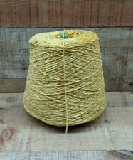 Gold Rayon Chenille Yarn 2 lbs 1450 Ypp *Save w/Combined Ship*
