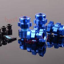 BRUSHLESS Widen 17mm HEX NUTS hubs E-MAXX Summit 3.3 Traxxas E-REVO REVO3.3 1/10