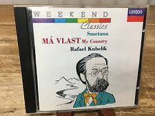 Smetana Má Vlast Rafael Kubelik CD March 1992 London Decca Weekend Classic Audio