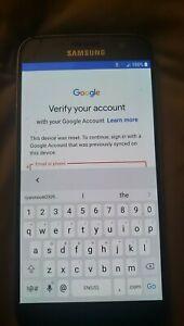 Samsung Galaxy S7 - SM-G930V - 32GB - Midnight Blue - (Verizon) - *FOR PARTS*