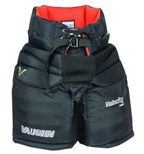 "New Vaughn 7490i Pro ice hockey goalie pants intermediate 24"" - 26"" medium black"