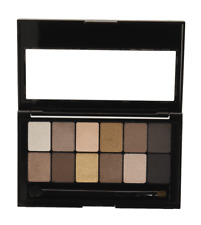 Maybelline THE NUDES Eyeshadow Palette Nude Shades Collection Beige Brown Taupe