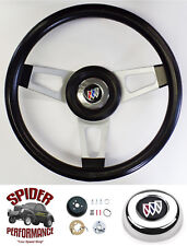 "1969-1987 Buick steering wheel 13 3/4"" SILVER SPOKE Grant"