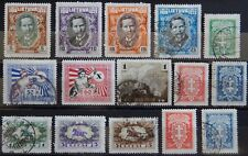 Litauen Lietuva ex. Kat. 278-292 used / MH * 1927/30 Kat. 27 Euro