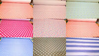 Print Ponte Roma Dress Jersey Printed 4 Way Stretch Lycra Fabric Dots Spots
