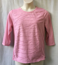 Noni B Size 14 Top Shirt Womens 3/4 Sleeve Work Casual Evening Travel Holiday