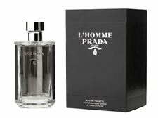 Prada L'Homme (Tester) Cologne for Men 100ml EDT Spray (New - With Cap)