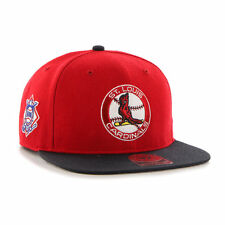 St. Louis Cardinals - '47 Brand MLB Sure Shot Snapback Hat Cap Cooperstown Flat