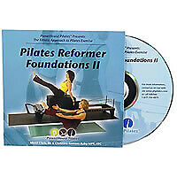 Pilates Reformer Foundations II DVD NEW SLIM CASE b;141