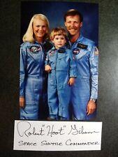 New ListingRobert L Gibson Authentic Hand Signed Autograph Cut + 4X6 Photo Nasa Astronaut