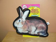 Scoochie Pet Products Brawny Bruisers Hannah Rabbit Dog Toy